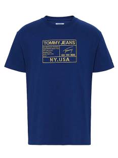 Tommy Hilfiger DM0DM07848 TJM GOLD EMBROID Print T-Shirt c87 twilight navy