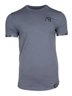 AB Lifestyle SMALL BAND TEE Print T-Shirt grijs