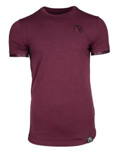 AB Lifestyle SMALL BAND TEE Print T-Shirt maroon