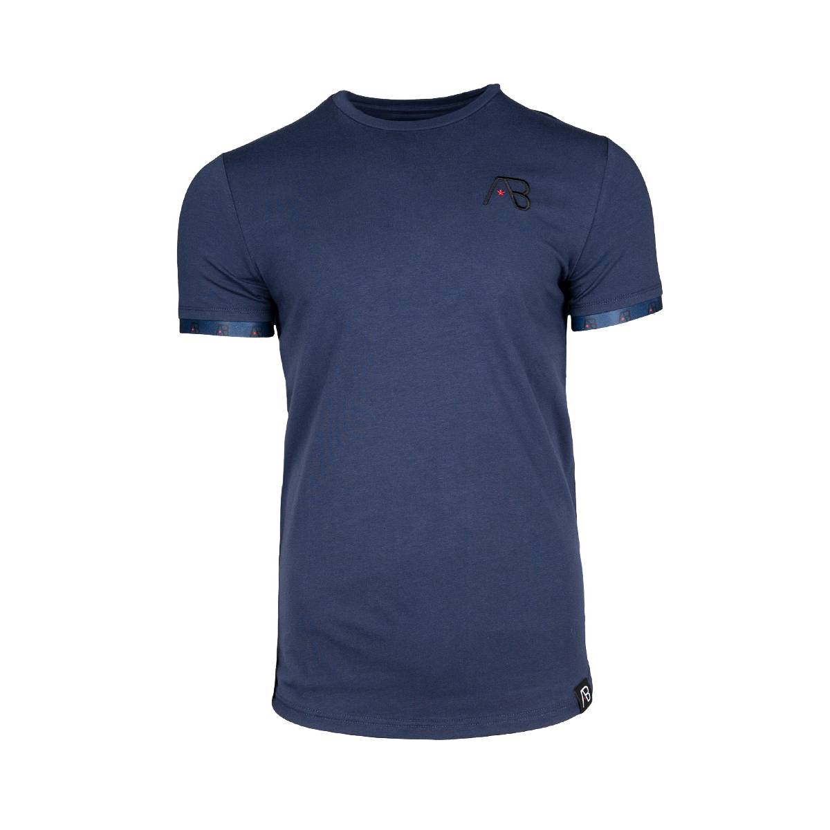 AB Lifestyle SMALL BAND TEE Blauw