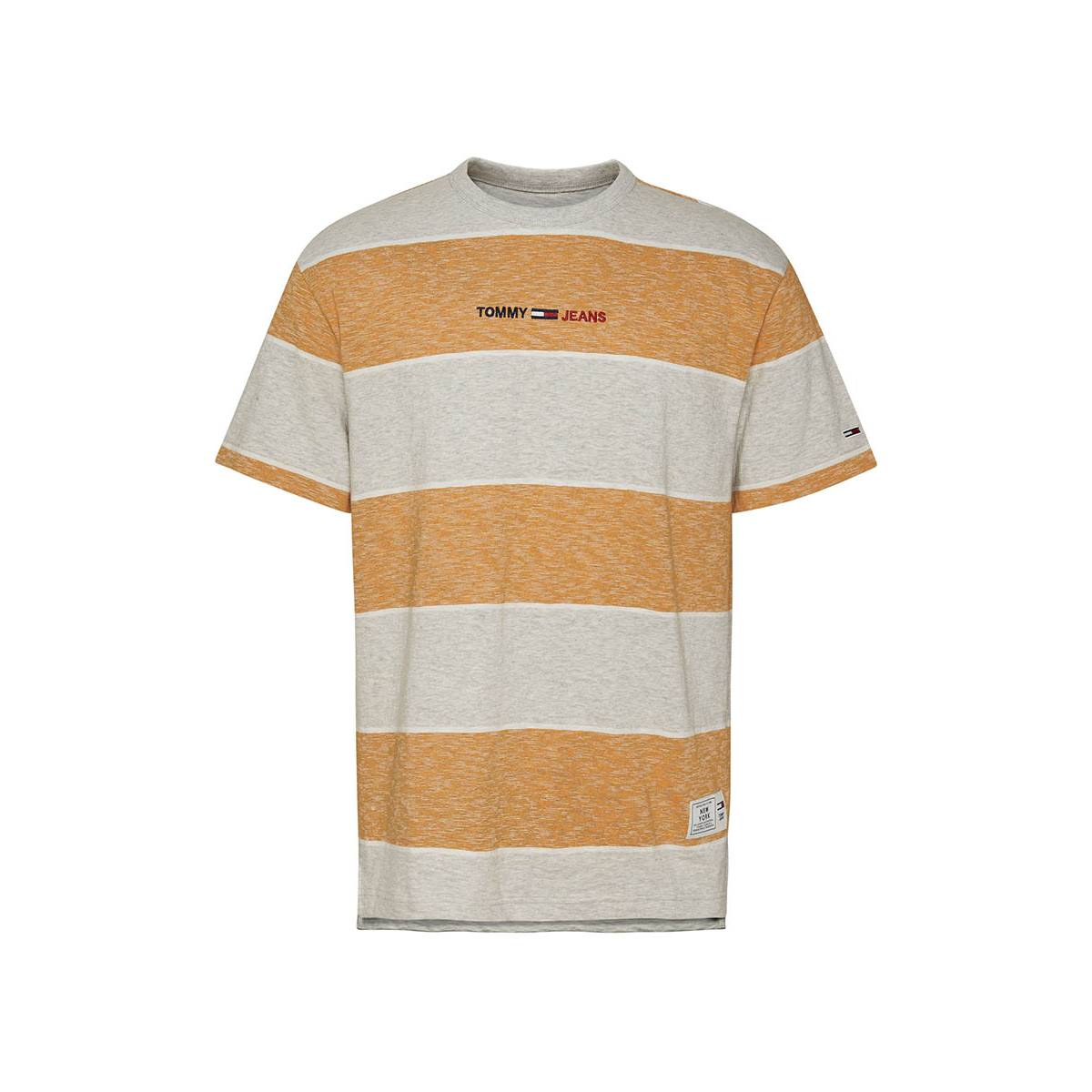 Tommy Jeans DM0DM10285 STRIPE LINEAR Oranje
