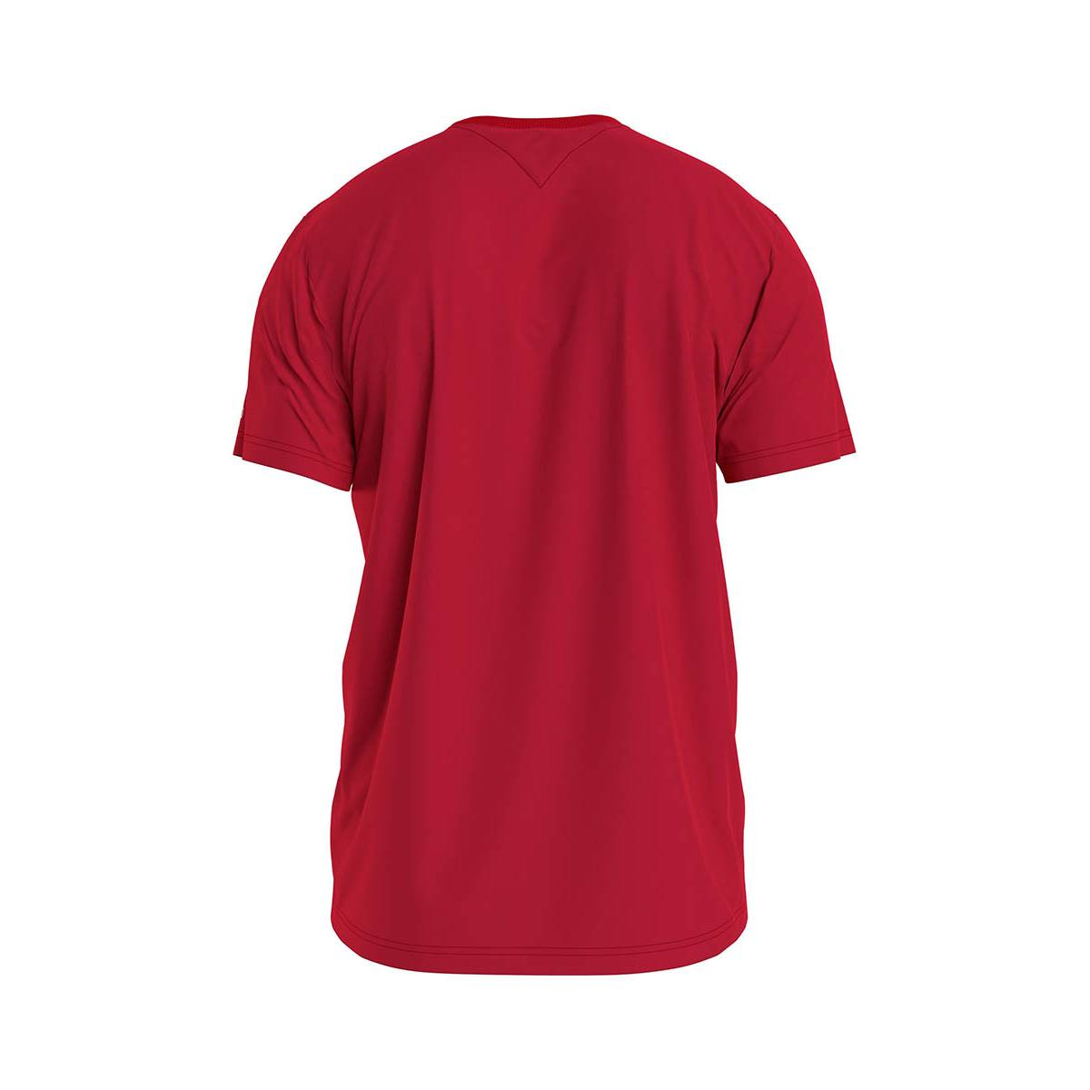 Tommy Jeans DM0DM10214 CORP LOGO TEE Rood