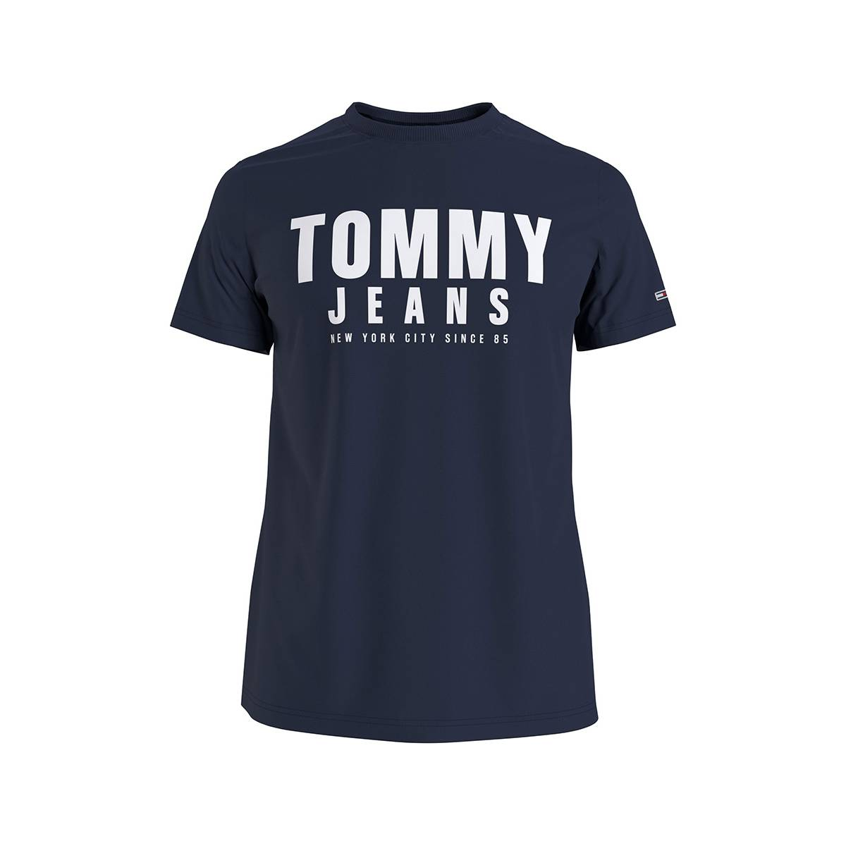 Tommy Jeans DM0DM10243 CENTER CHEST TOMMY Blauw