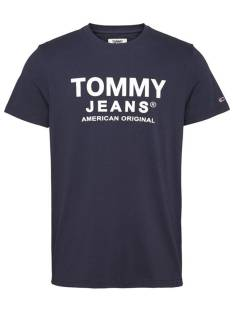 Tommy Hilfiger Shirt Tommy Hilfiger DM0DM08349 TJM ESSENTIAL FRONT Print T-Shirt c87 twilight navy