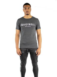 Quotrell BASIC T-SHIRT TH00012 Print T-Shirt 1000 grey