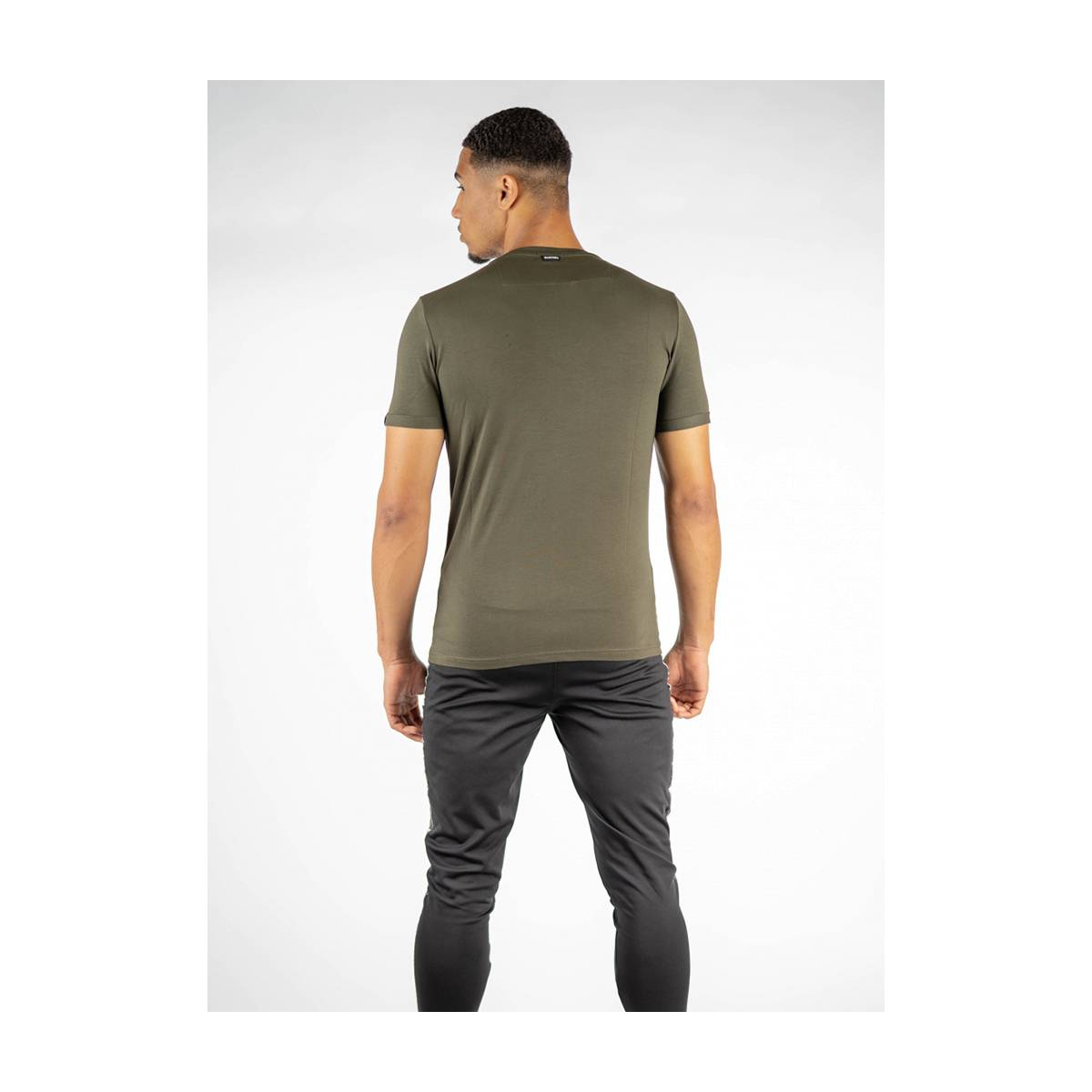 Quotrell BASIC T-SHIRT TH00012 Groen