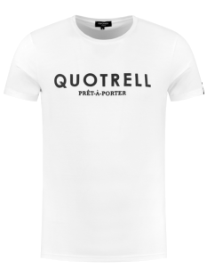 Quotrell BASIC T-SHIRT TH00012 Print T-Shirt 100 white