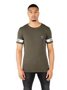 Quotrell Shirt Quotrell SERGEANT T-SHIRT TH00014 Print T-Shirt 1103 army green