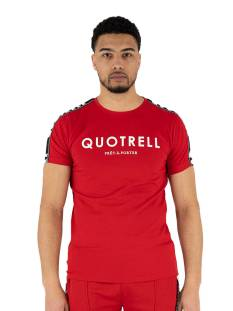 Quotrell Shirt Quotrell GERENAL T-SHIRT TH00018 Print T-Shirt red 400
