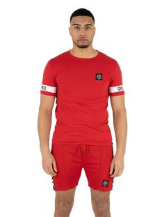 Quotrell Shirt Quotrell SERGEANT T-SHIRT TH00016 Print T-Shirt red 400