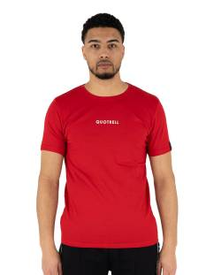 Quotrell Shirt Quotrell WING T-SHIRT TH00022 Print T-Shirt red 400