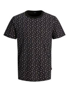 Jack & Jones Premium JPRBLABLACKBURN TEE SS CREW NECK Print T-Shirt black reg fit 12179603
