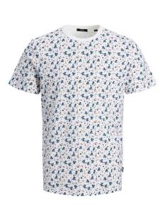 Jack & Jones Premium JPRBLABLACKBURN TEE SS CREW NECK Print T-Shirt white reg fit 12179603