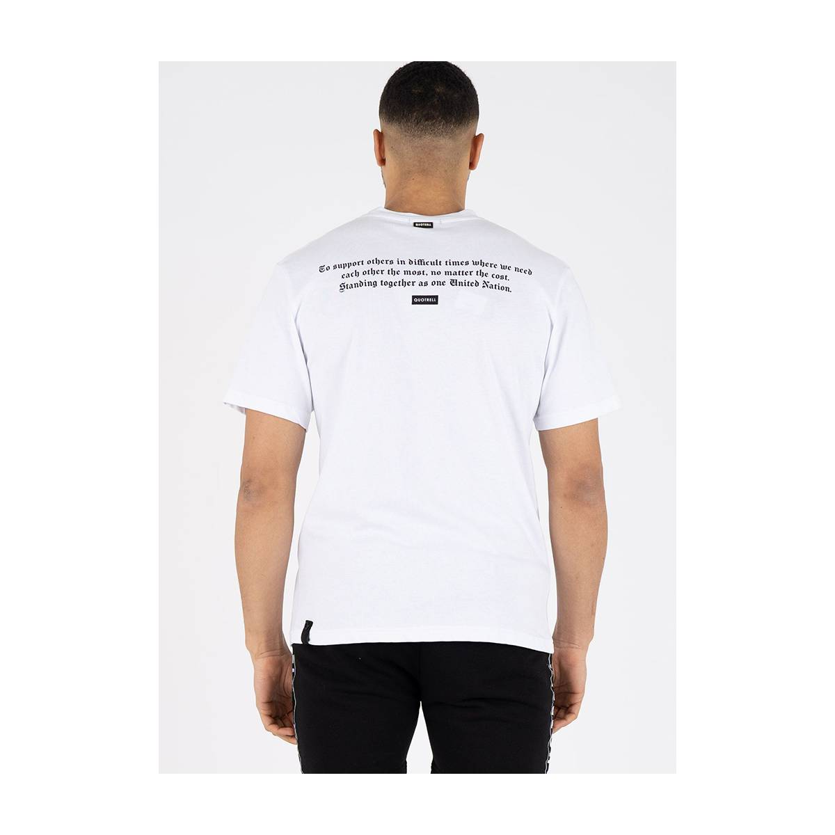 Quotrell Unity T-shirt Wit