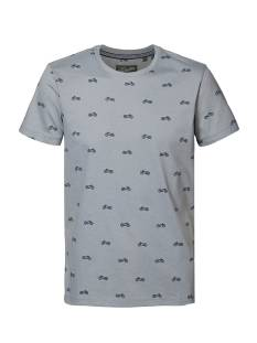 Petrol M-1010-TSR668 Print T-Shirt 6137 hedge green