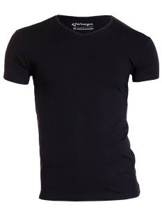 Garage Shirt Garage 0202 VNECK BF.ELAST Basic T-Shirt black