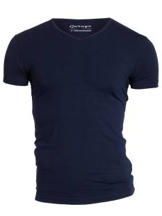 Garage Shirt Garage 0202 VNECK BF.ELAST Basic T-Shirt navy