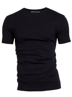Garage Shirt Garage 0301 ONECK BF.KATOEN Basic T-Shirt black