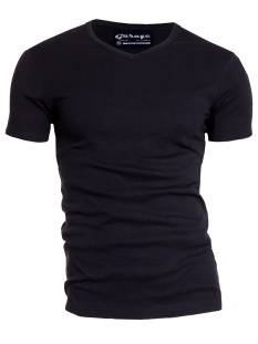 Garage Shirt Garage 0302 VNECK BF.KATOEN Basic T-Shirt black