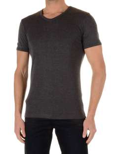 Garage Shirt Garage 0302 VNECK BF.KATOEN Basic T-Shirt antraciet