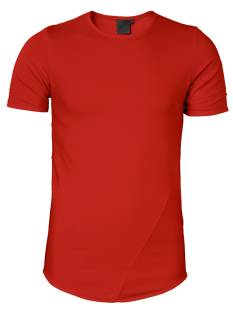 Zumo Shirt Zumo CADEN- S/S-005 BACKZIP Basic T-Shirt red