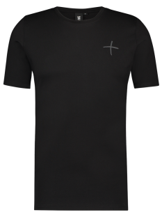 24 Uomo Shirt 24 Uomo MY34 TSHIRT 24UOMO Basic T-Shirt black