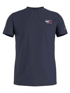 Tommy Jeans Shirt Tommy Jeans DM0DM10099 CHEST LOGO Basic T-Shirt navy