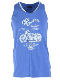 East Street 6 RE-MS-191 SINGLET MOTOR Singlets 002 dazling blue