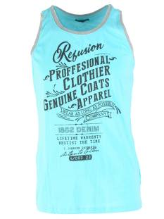 Refusion Shirt Refusion RE-MS-194 SINGLET PROF Singlets 005 bachelor blue