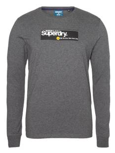 Superdry Shirt Superdry M6010153A CL TRANSIT LS TOP Longsleeves 3jv dark charcoal marl
