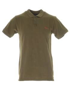Refusion Shirt Refusion POLO 3 REFUSION Poloshirt army green