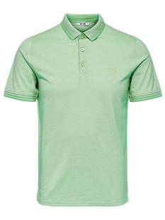 Only & Sons Shirt Only & Sons ONSSTAN SS FITTED POLO TEE Poloshirt grayed jade 22011349