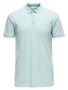 Only & Sons Shirt Only & Sons ONSSTAN SS FITTED POLO TEE Poloshirt aquifer stripes 22011349