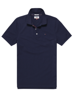Tommy Hilfiger Shirt Tommy Hilfiger DM0DM04266 BASIC PIQUE POLO Poloshirt 002 black iris