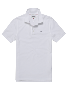 Tommy Hilfiger Shirt Tommy Hilfiger DM0DM04266 BASIC PIQUE POLO Poloshirt 100 classic white
