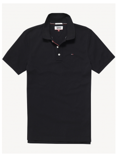 Tommy Hilfiger Shirt Tommy Hilfiger DM0DM04266 BASIC PIQUE POLO Poloshirt 078 tommy black