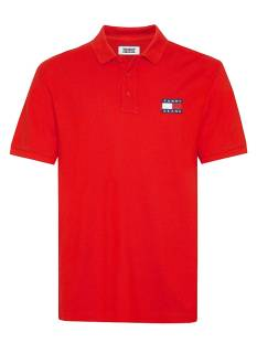Tommy Hilfiger Shirt Tommy Hilfiger DM0DM07456 TJM TOMMY POLO BADG Poloshirt xa9 racing red