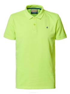 Petrol Shirt Petrol M-2000-POL933 Poloshirt 1000 safety yellow