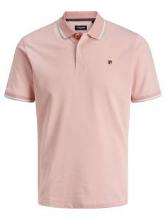 Jack & Jones Premium Shirt Jack & Jones Premium JPRBLUWIN POLO SS STS Poloshirt rose tan 12169064