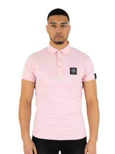 Quotrell Shirt Quotrell SQUADRON POLO PO00003 Poloshirt 1101 light pink