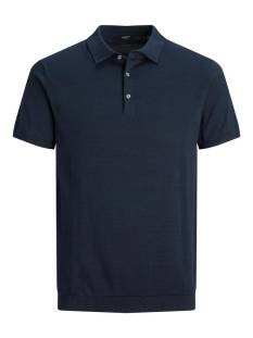 Jack & Jones Premium JPRBLAIGOR KNIT POLO S/S Poloshirt new navy 12136090