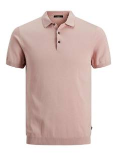 Jack & Jones Premium JPRBLAIGOR KNIT POLO S/S Poloshirt peach whip 12136090