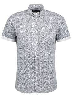 Jack & Jones Premium Overhemd Jack & Jones Premium JPRKEVIN AOP SHIRT SS Blouse   white 12134092
