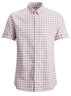 Jack & Jones Premium JPRSUMMER CHECK SHIRT SS Rose