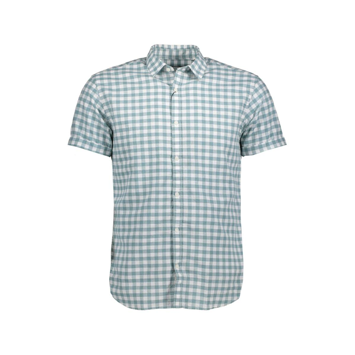 Jack & Jones Premium JPRSUMMER CHECK SHIRT SS Groen