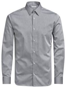 Jack & Jones Premium JPRNON IRON SHIRT L/S Blouse   grey melange 12125792
