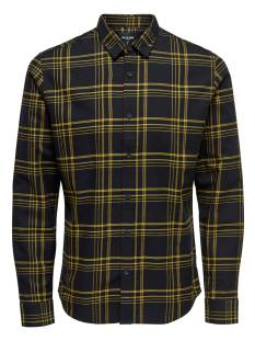 Only & Sons Overhemd Only & Sons ONSOTHAN LY Y/D CHECK SHIRT Blouse   spectra yellow 22011280