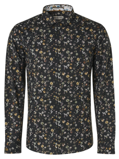 No-Excess Overhemd No-Excess 97410801 SHIRT LS ALL OVER PRINT Blouse   20 black