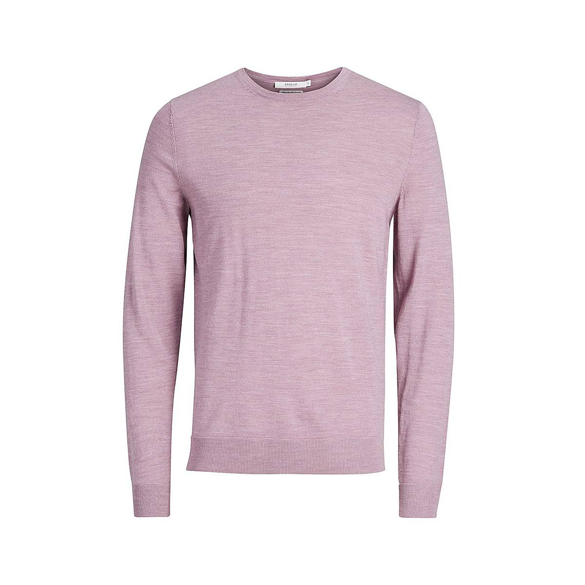 Jack & Jones Premium JPRMARK KNIT CREW NECK Rose