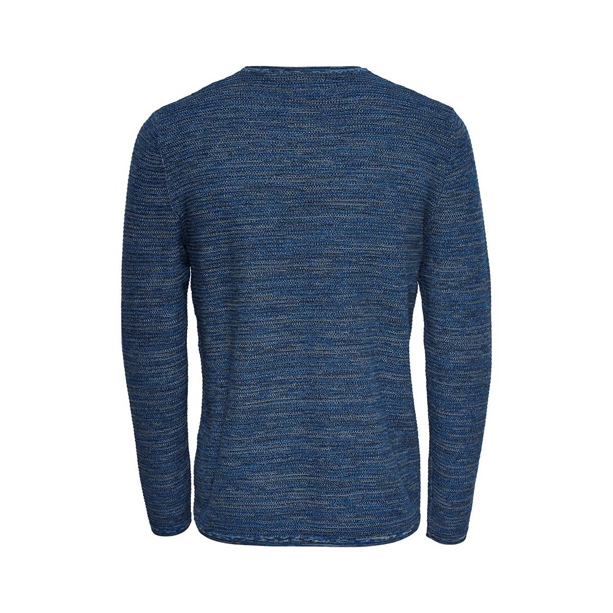 Only & Sons ONSWICTOR 12 STRUCTURE CREW Blauw